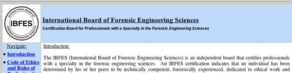InternationalBoardofForensicEngineeringSciences