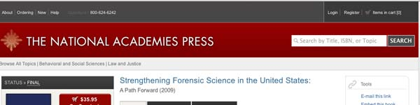 strengtheningforensicscience