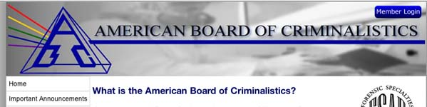 American Board of Criminalisics