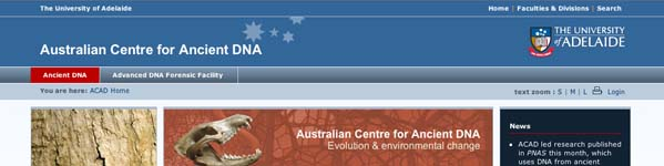 Australian Centre for Ancient DNA (ACAD)