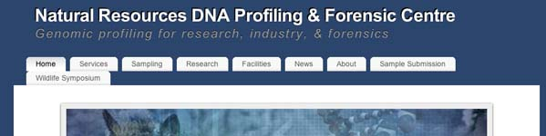 Natural Resources DNA Profiling & Forensic Centre