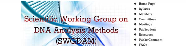Scientific Working Group on DNA Analysis Methods (SWGDAM)