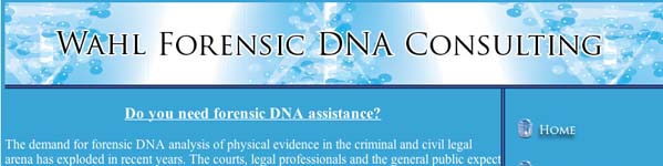 Wahl Forensic DNA Consulting